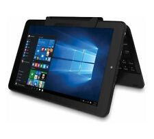 "RCA Cambio 10.1"" 2-in-1 Tablet 32GB Intel Quad-Core Processor Windows 10, Black"