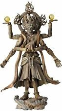 Kaiyodo Takeya Revoltech Action Figure: #003 Ashura Wooden Version Japan Import
