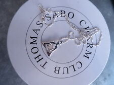 COLLIER BOUDHA ARGENT 925 MARQUE THOMAS SABO NEUF SUPERBE NLE COLLECTION