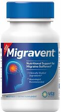 Migraine Relief Supplement - Vita Sciences Natural Migravent Proprietary Remedy
