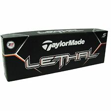 TaylorMade Lethal Golf Ball 12pk White