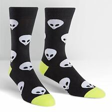 Sock It To Me Men's Crew Socks - Aliens