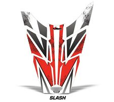 AMR Racing Sled Hood Wrap Graphic Decal Polaris Rush RMK Snowmobile Parts SLSH R
