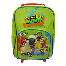 Official Shaun the Sheep Movie Wheeled Hand Luggage Suitcase Bag - Travel Bitzer