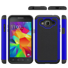 For Samsung Galaxy J3 V / J3 2016 Case Tough Protective Hybrid Phone Back Cover