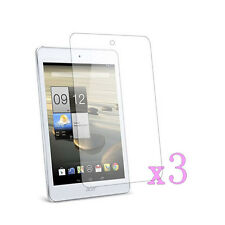 """3 x Ultra Clear LCD Screen Protector Cover For Acer Iconia Tab 8.0"""" A1-840"""