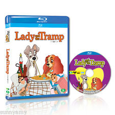 Disney's Classic - Lady and the Tramp - Blu Ray - Region 0 (NEW) A story of love