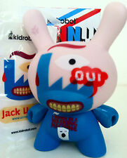 "DUNNY 3"" FRENCH SERIES JACK USINE CHASE 1/50 KIDROBOT 2008 TOY VINYL"