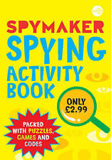 Spymaker: Spying Activity Book, Gaby Morgan, New Book