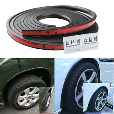 118'' PVC Car Fender Flares Extension Black Wheel Eyebrow Protector Lip Trim #45