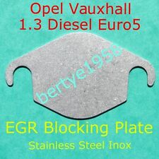 EGR blanking blank plate VAUXHALL Opel 1.3CDTi Euro5 valve only Fiat Alfa Lancia