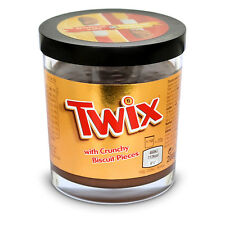 Twix Chocolate Caramel with Crunchy Biscuit Pieces Sandwich spread 200g