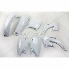 UFO Plast 5 Piece Plastic Kit Honda CR 125 250 2002 - 2003 White