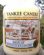 "Yankee Candle ""BAKERY AIR"" Food & Spice French 22 oz. NEW!  NOT YET RELEASED!!"