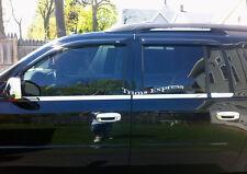 2002-2009 Chevy Trailblazer EXT 6Pc Window Sill Trim Stainlesss Steel