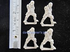 Warhammer 40K 40,000 Imperial Guard Rogue Trader 1987 Metal PENAL TROOPERS lot/4