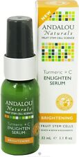 Brightening Turmeric + C Enlighten Serum, Andalou Naturals, 1.1 oz