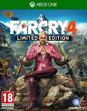 Far Cry 4 -- Limited Edition (Microsoft Xbox One, 2014)