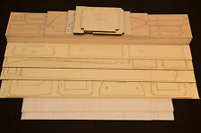 "Large 1/6 Scale BRONCO OV-10 Laser Cut Short Kit, Plans & Instruction 80""WS"