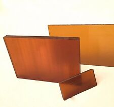 """1/4"""" Thick ULTEM Plate - Priced Per Foot- Cut to Size!"""