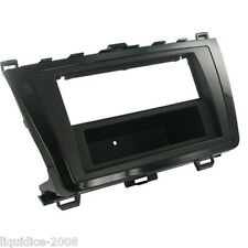CT24MZ19 MAZDA 6 2001 to 2013 BLACK SINGLE DIN FASCIA ADAPTER PANEL PLATE