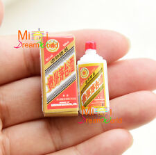 Dollhouse Miniature Toy 1:12 Dinning Chinese wine MaoTai bottle with box