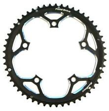 Alloy 53T Road Crank Large Big Chainring 5-Bolt 10Spd 130BCD 130PCD BLACK