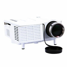Portable HD LED Projector Home Cinema Film Theater PC Laptop USB SD AV HDMI Game