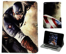 For Apple iPad Mini 1 2 3 4 Marvel Comics Captain America Avengers Case Cover DC