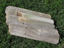 "Reclaimed Old Fence Wood Boards W Ears 1 Board 24"" Weathered Barn Wood Planks"