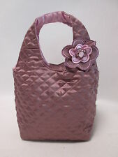Small Embroidered Womens Ladies Purple Quilted Evening Dinner Handbag Bag #1F2