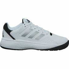 Adidas Cloudfoam Ilation White Silver Black Mens Basketball Shoes AQ1376 Size 13
