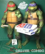 TMNT 1/4 SCALE 2 PIZZA BOXES for NECA RALPH DONATELLO NINJA TURTLES MOVIE 1990