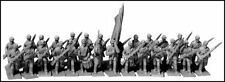 """N SCALE: """"ADVANCING INFANTRY - SHELL JACKETS/SLOUCH HATS - CSA"""" - #ACW-4 by GHQ!"""
