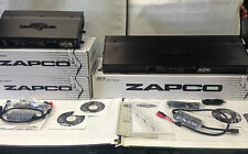 NEW ZAPCO DC REFERENCE DC1100.1 TWO DC200.2 CAR AMP AUDIOPHILE AMPLIFIER PACKAGE
