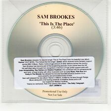 (GG265) Sam Brookes, This Is The Place - 2014 DJ CD