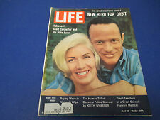 Life Magazine, May 18,1962 The Loner Who Found Him Self New Hero For Orbit