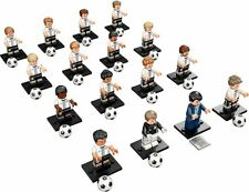 LEGO 71014 Complete Set of 16 DFB (German Soccer Team) MINIFIGURE​​S SERIES