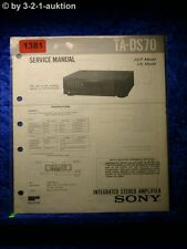 Sony Service Manual TA DS70 Amplifier  (#1381)
