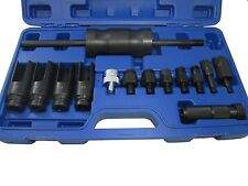 Bergen Tools 14pc Injector Extractor With Common Rail Adaptor NEW 5538