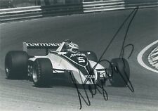 Nelson Piquet Formula 1 World Champion Autograph Signed F1 Photo 1980 Brabham