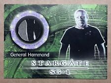 Stargate SG-1 Costume Card - C6 General Hammond Costume Material