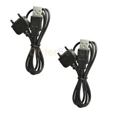 2 USB Battery Charger Data Sync Cable for Sony Ericsson w580 w580i w600i w800i
