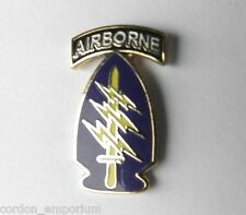 UNITED STATES ARMY AIRBORNE SPECIAL FORCES MINI TIE OR LAPEL PIN 1/2 INCH