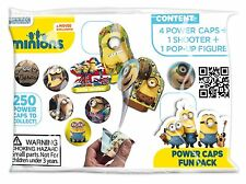 60 x Minions Power Caps Fun Pack Party Toys Lucky Bag Loot Pinata Wholesale