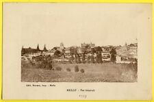 cpa 79 - MELLE (deux Sèvres) Vue Générale du Village circulée en 1927