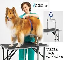 DOG GROOMER NO SIT RESTRAINT SUPPORT SYSTEM ARM&CLAMPS Saddle For Grooming Table
