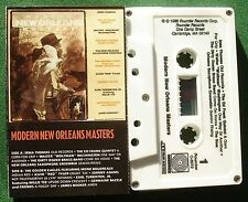 Modern New Orleans Masters Irma Thomas James Booker + Cassette Tape - TESTED