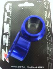 ZETA REAR AXLE WHEEL SPACERS BLUE YZ125 YZ250 02-14 WR YZ250F 03-08 YZ450F 03-08