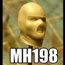 """MH198 Custom Cast Sculpt part Male head cast for use with 3.75"""" action figures"""